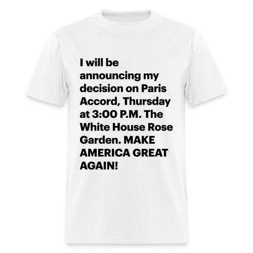 Jun. 1, 2017 - Men's T-Shirt