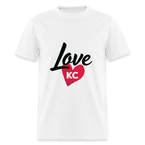 LoveKC Logo Final color - Men's T-Shirt