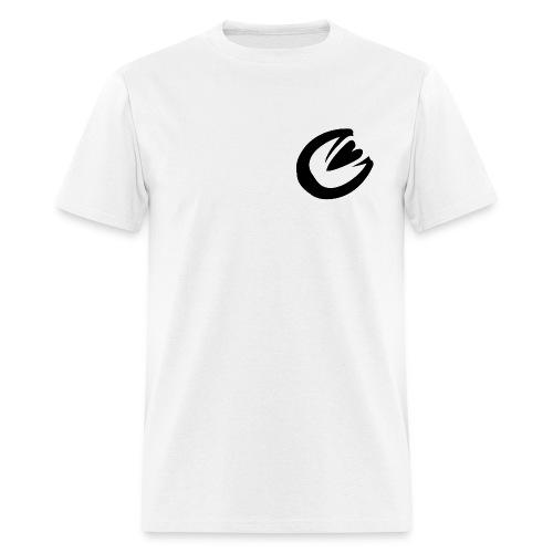 Ekviba Equestrian horse hoofprint - Men's T-Shirt