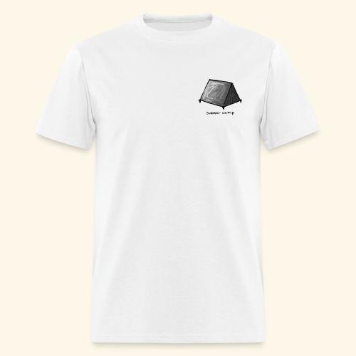 Summer Camp Tent Logo - Men's T-Shirt