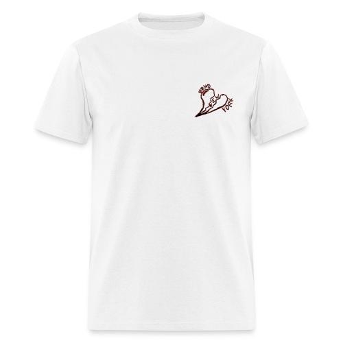 bbho heart broken - Men's T-Shirt