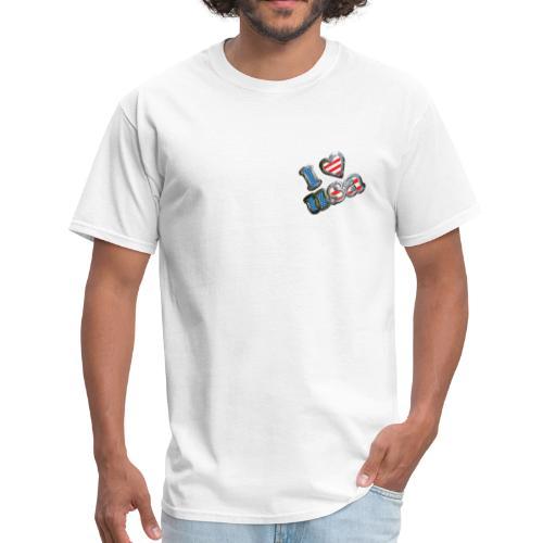 I LOVE USA - Men's T-Shirt