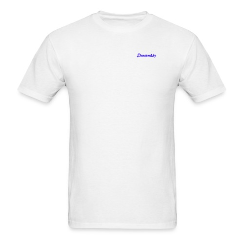 Logo Blue - Men's T-Shirt