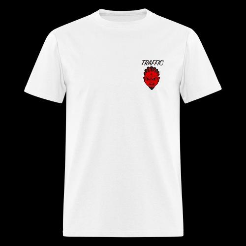 Traffic Devil Face - Men's T-Shirt