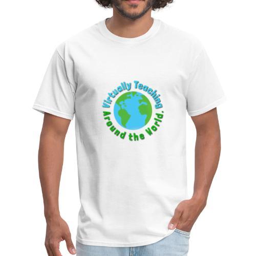 Virtually teaching Around the World - Men's T-Shirt