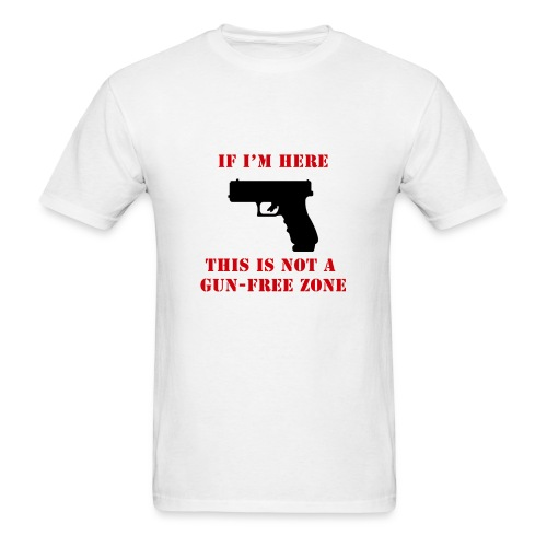 GunFreeZone - Men's T-Shirt