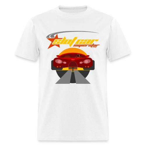 Slot Car Superstar T-Shirt 1 - Men's T-Shirt