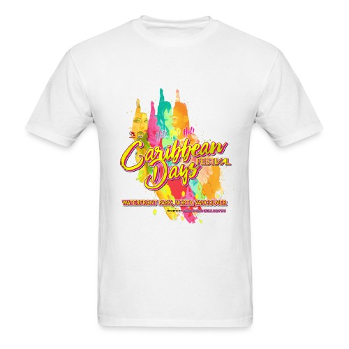 Caribbean Days Festival = Hot! Hot! Hot! - Men's T-Shirt