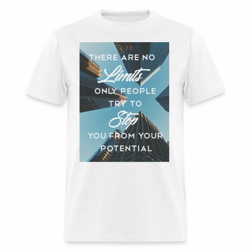 no limits - Men's T-Shirt