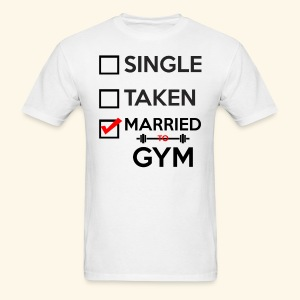 MARRIED TO GYM - Men's T-Shirt