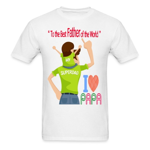 Father and son - Men's T-Shirt