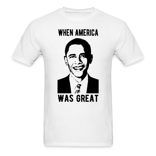 When America Was Great - Men's T-Shirt