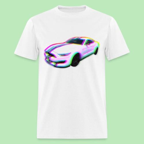 Mustang Glitch - Men's T-Shirt