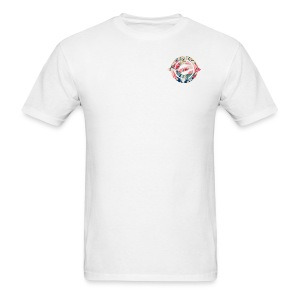 Logo Floral Heart - Men's T-Shirt