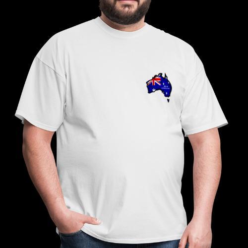 AUSSIE LIVIN - Men's T-Shirt