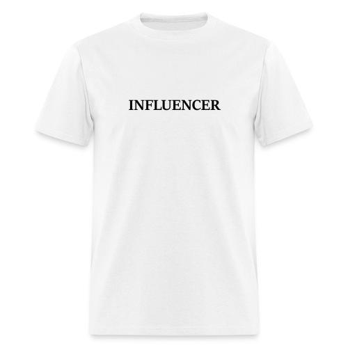 influencer black - Men's T-Shirt