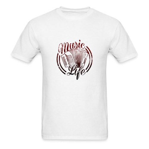 MusicLife2 - Men's T-Shirt