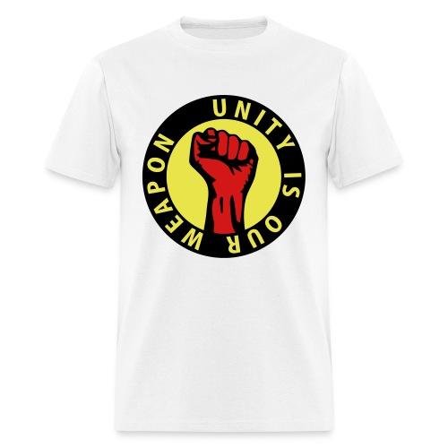 Unity is our weapon - Men's T-Shirt
