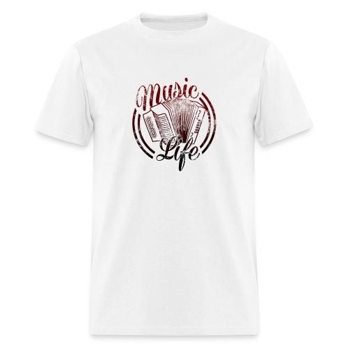 MusicLife2 - Men's T-Shirt
