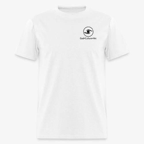 God, Culture, Art - Men's T-Shirt