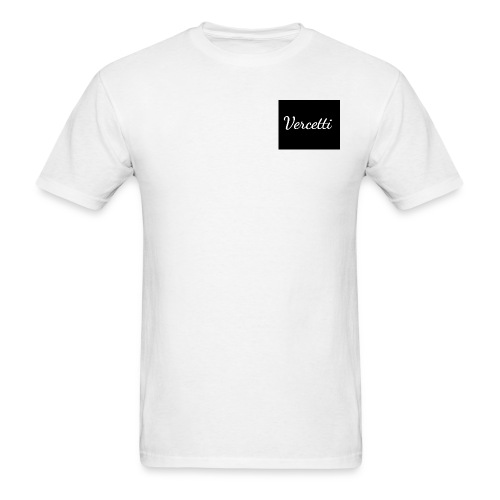White Vercetti Summer shirt. - Men's T-Shirt