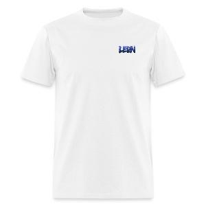 Blue Leon White Tee - Men's T-Shirt
