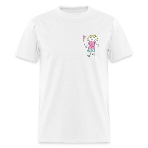 Girl in love - Men's T-Shirt