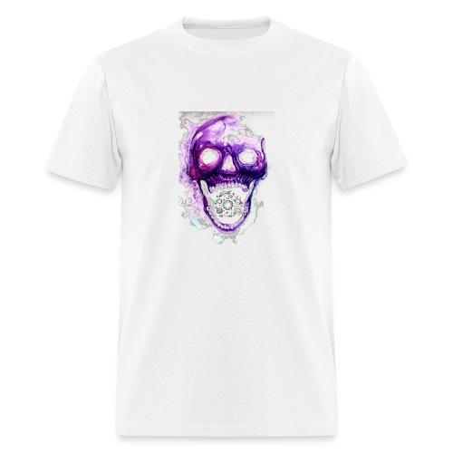 Skull vs galaxies - Men's T-Shirt