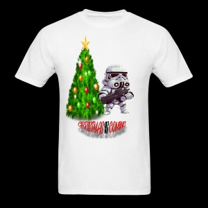StarWars #ChristmasIsComing - Men's T-Shirt