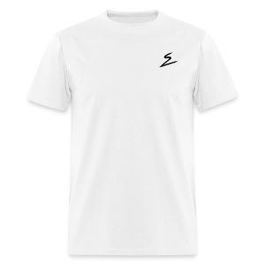 Swirv Signature Logo White - Men's T-Shirt