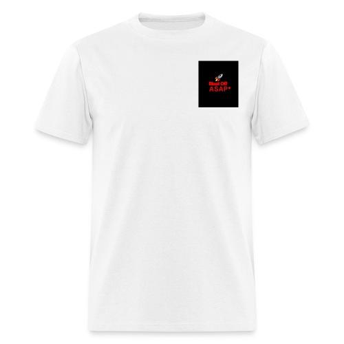 Blast off Asap logo - Men's T-Shirt