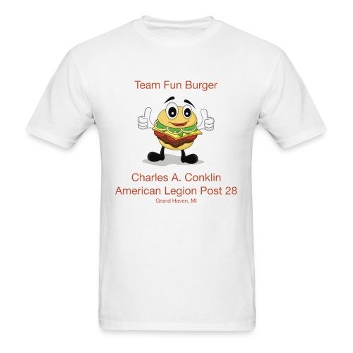 Team Fun Burger - Men's T-Shirt