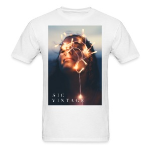 SicVintage Beauty in the Lignts - Men's T-Shirt