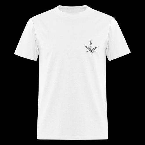 Weed Leaf - Men's T-Shirt
