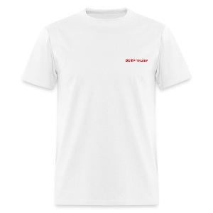 DUMP TRUMP NOW - Men's T-Shirt