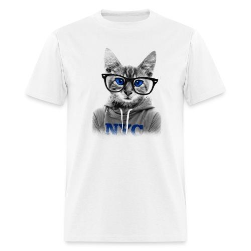 Blue Eyes Cat - Men's T-Shirt