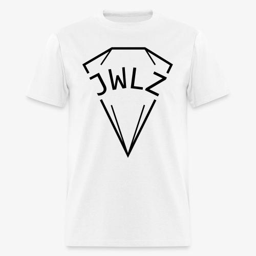 jwlz black - Men's T-Shirt
