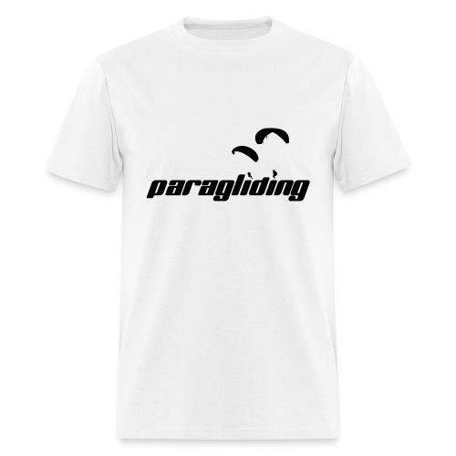 Paragliding Logo Shirt 01 - Men's T-Shirt