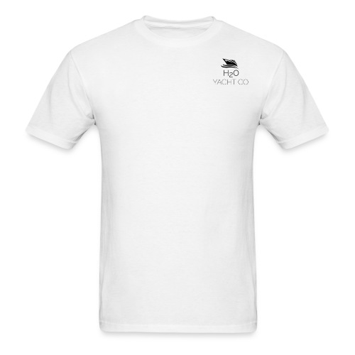 H2O Yacht Co. Black - Men's T-Shirt