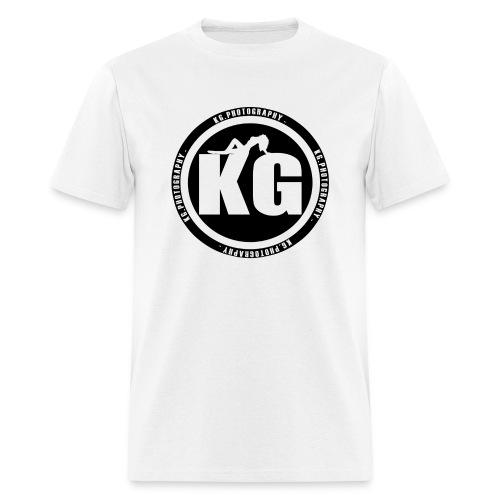 KGPHOTOGRAPHY WHITE T's - Men's T-Shirt