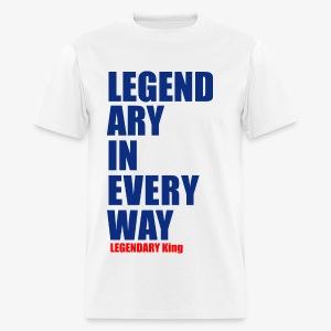 Legendary King - Men's T-Shirt