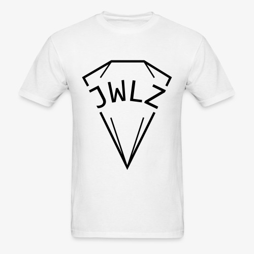 jwlz black - Men's T-Shirt