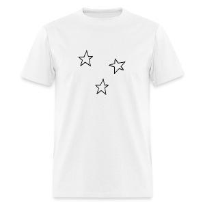 Three Stars - Men's T-Shirt