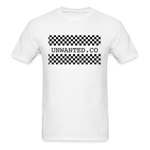 checkered unwanted - Men's T-Shirt