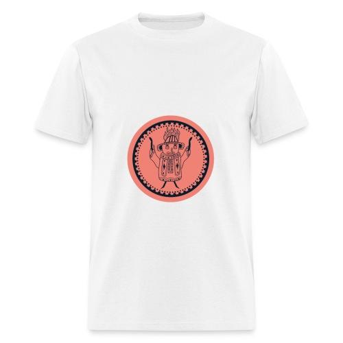 Tiki head campfire - Orange - Men's T-Shirt