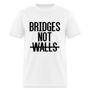 Bridges not Walls - Men's T-Shirt