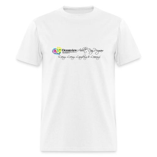 DAY PROGRAM LOGO BLACK - Men's T-Shirt
