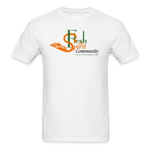 Flesh and Spirit Community T-Shirt - Men's T-Shirt