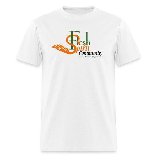Flesh and Spirit Community T-Shirt - Men's T-Shirt