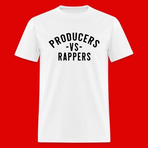PRODUCERS -VS- RAPPERS (BLKWRDS) BY SHAWTYREDD - Men's T-Shirt